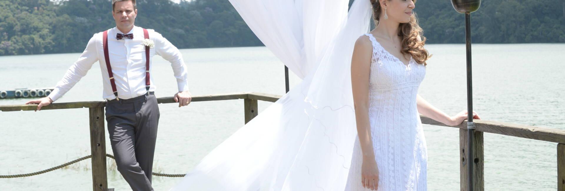 Casamento Pier Recanto Santa Rita de Marcio e Maíra