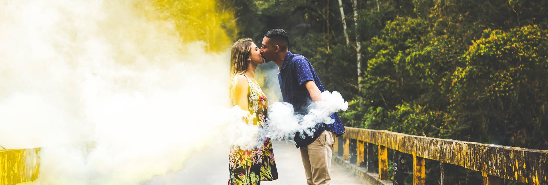 Pré Wedding de Parque das Neblinas - SP