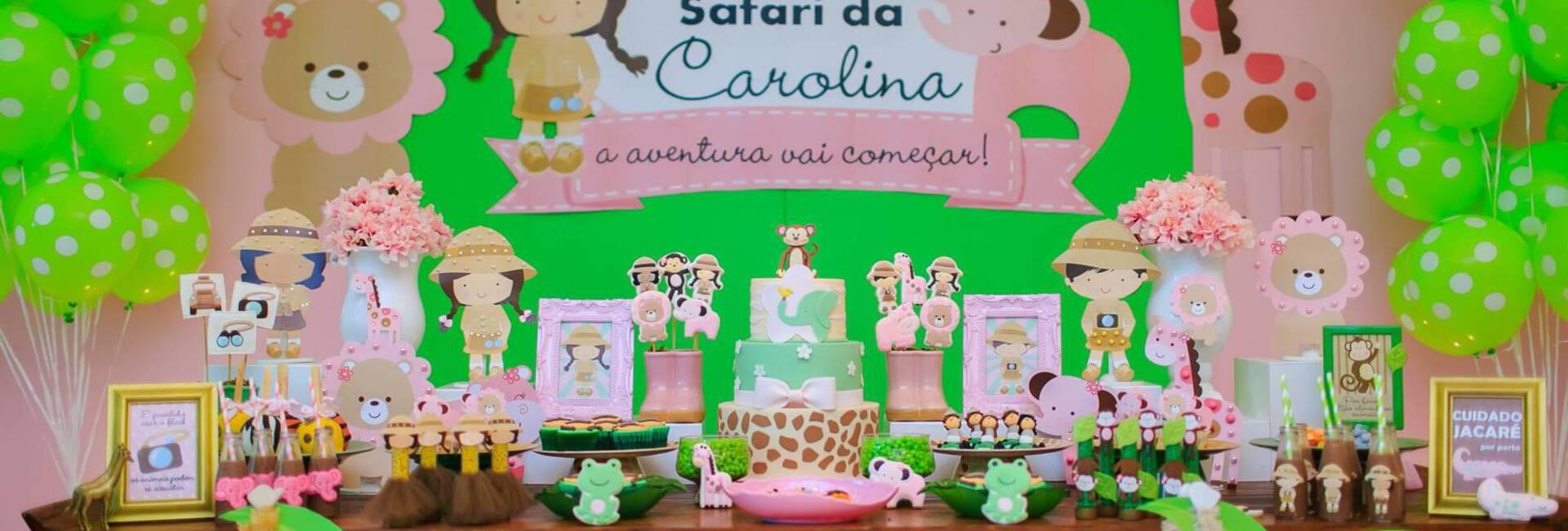 Festas Infantis de Safari da Carolina