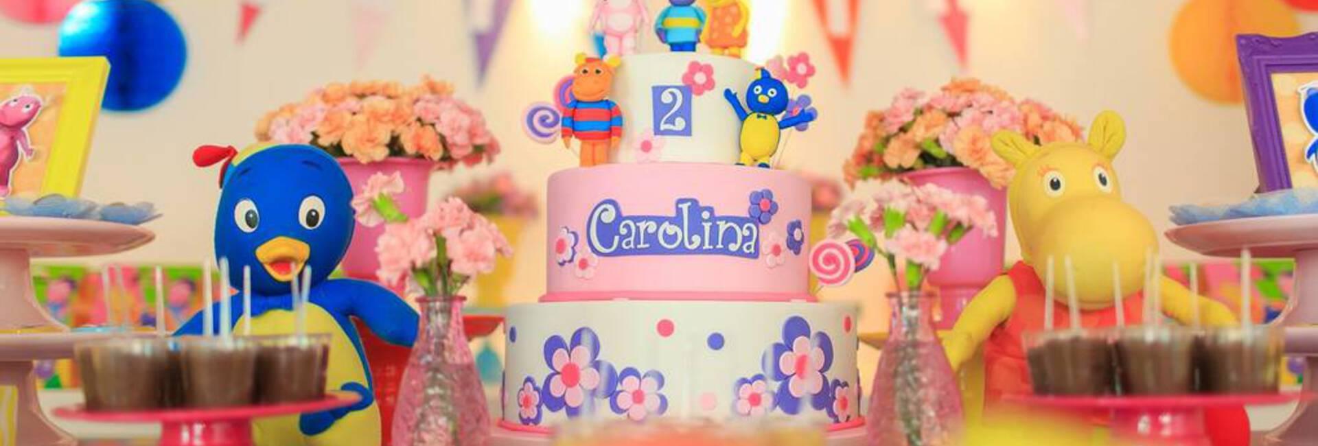 Festas Infantis de Backyardigans da Carolina