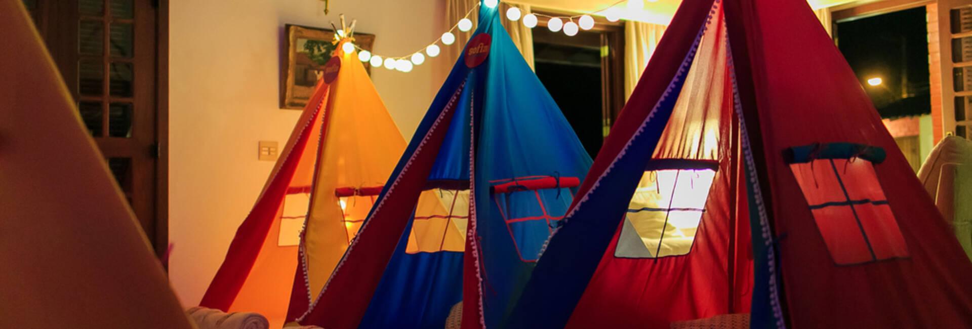 Festas Infantis de Festa do Pijama da Sofia