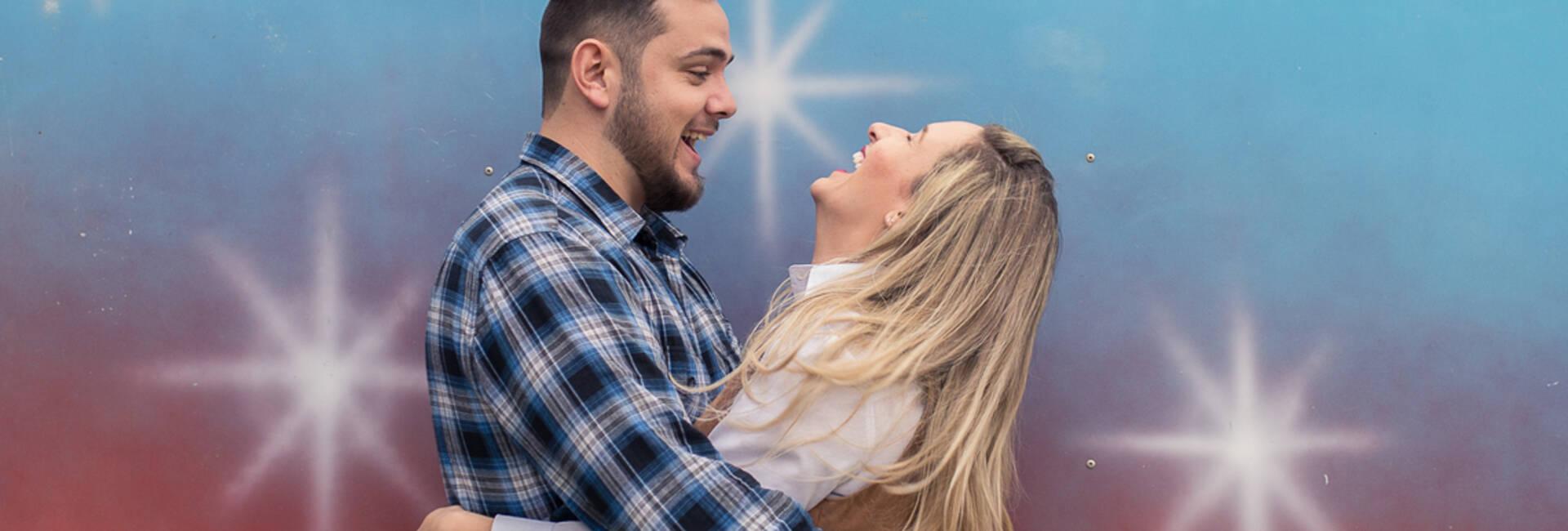 Ensaio pré-casamento de Lara e Cleiton