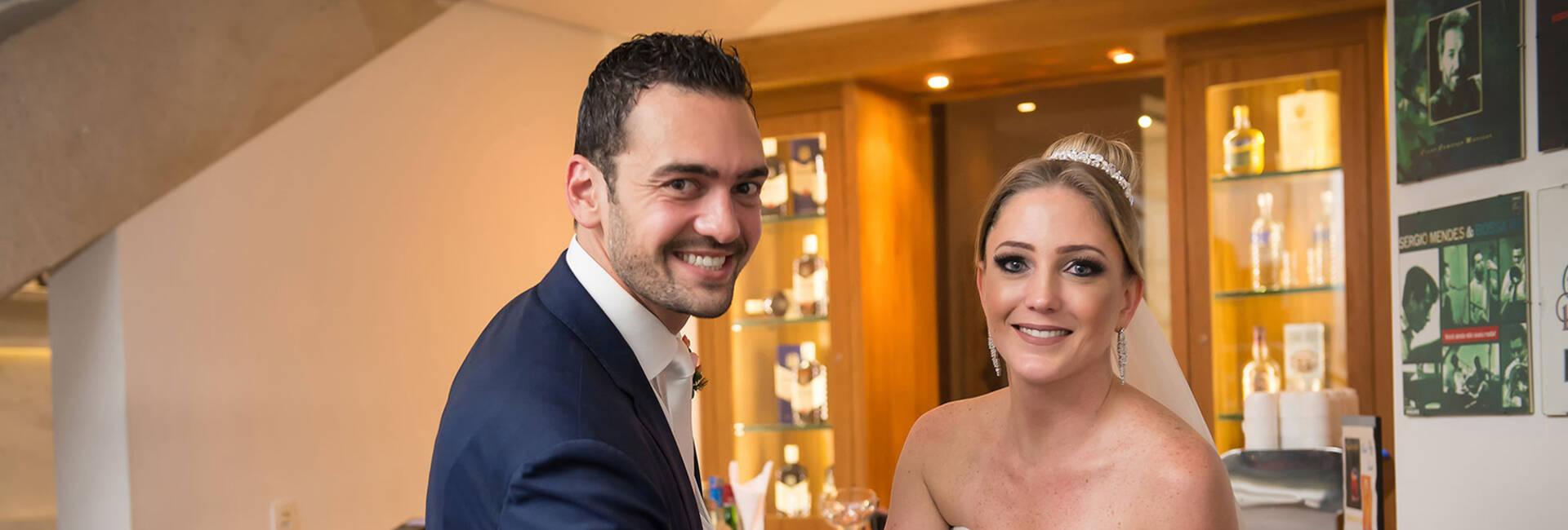 Casamento de Cintia e Victor