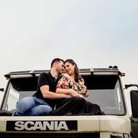 Samara e Gilberto (ensaio da espera pelo Rafa)