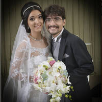Luiz Gadelha e Laurianne Melo
