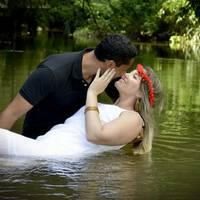 Andréa Moreira e Elvis Roberto