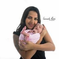 Rosi Santos - Mamãe da Manuella