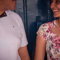 Jéssica e Gustavo