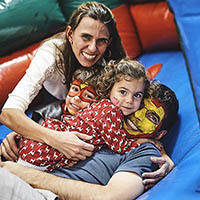 Aline Siqueira e Família