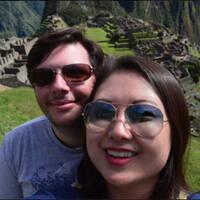 Fernanda Yumi e Diego
