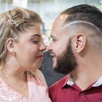 Daniel e Nathalia