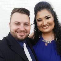 Elaine Araujo e Rafael Terreri
