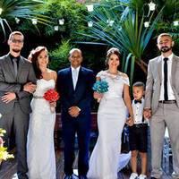 Noiva Jéssica - Casamento Duplo