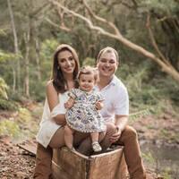 Daiane Dalpubel Begnini e família