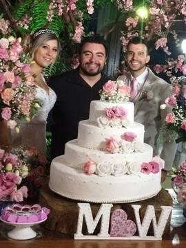 Casamentos de Mariane & Wellington em Espaço La Foret