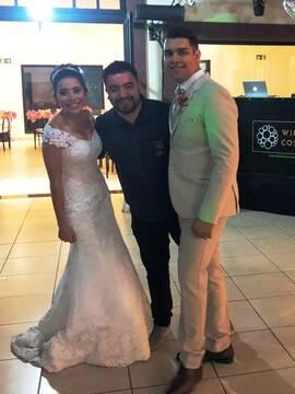 Casamentos de Stephanie & Andrei em Espaço La Foret