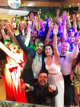 Casamentos de Cindy & Roger em Espaço La foret