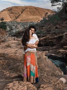 Ensaio de casal de Marina e Tobias em Luminárias/MG