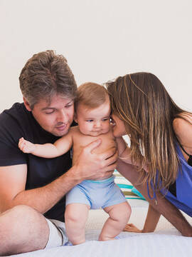Famílias de Bruno aos 6 meses em NEPOMUCENO/MG