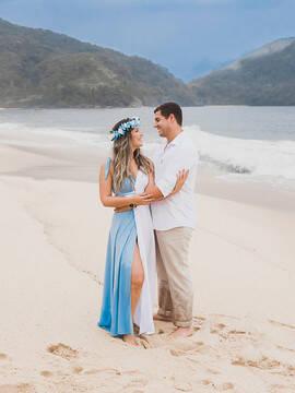 Pré-wedding de Fernanda e Tauhan em Paraty/RJ  Ubatuba/SP