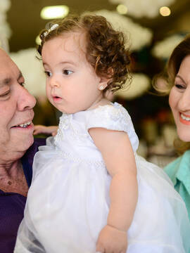 Aniversários de Maria Luisa 01 ano em Felix Petrolli Bambini
