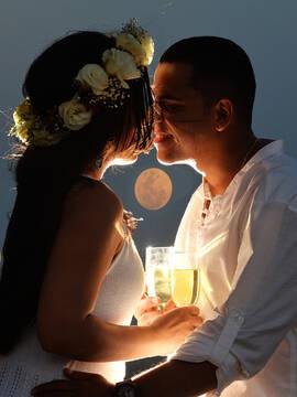 ensaio de noivos de Caetano e Vanessa em Praia do Forte - Litoral norte
