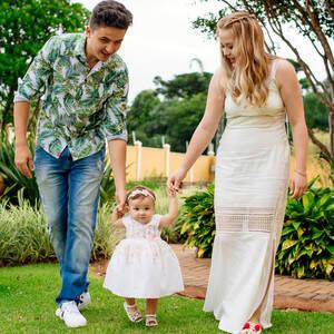 Family de Helena 01 Ano!