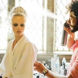 Penteado de Noiva de Workshop de penteados