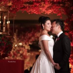 Dia da Noiva de Casamento Juliana e Robin