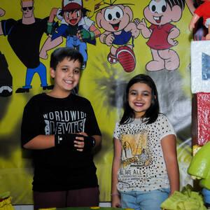 FESTA INFANTIL de Arthur 10 anos e Marina 8 anos