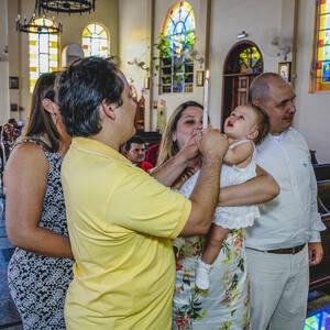BATIZADO de Valentina, Batizado