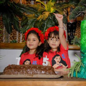 FESTA INFANTIL de Katharina 7 e Valenthina 5 anos