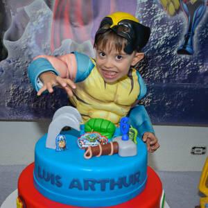FESTA INFANTIL de Luis Arthur 6 anos
