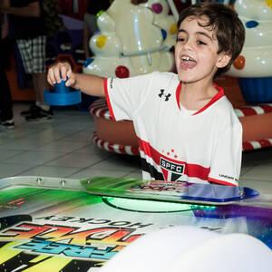 FESTA INFANTIL de Isaque 8 anos