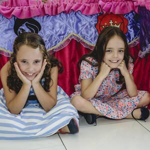FESTA INFANTIL de Cecília e Luísa 8 anos