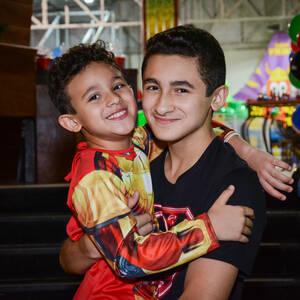 FESTA INFANTIL de Enrico 14 e Ryan 7 anos