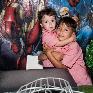 FESTA INFANTIL de Carlos Eduardo 7 anos Davi Lucas 3 anos
