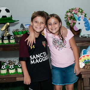 FESTA INFANTIL de Beatriz e Miguel 8 anos