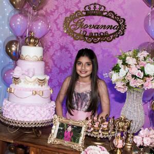 FESTA INFANTIL de Giovanna 10 anos