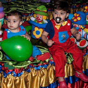 FESTA INFANTIL de Raphael 2 anos-Mhiguel 1 ano