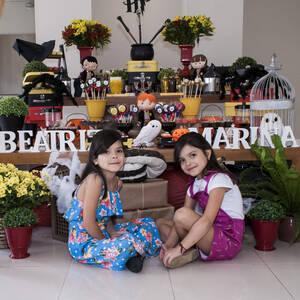 FESTA INFANTIL de Beatriz e Marina 8 anos