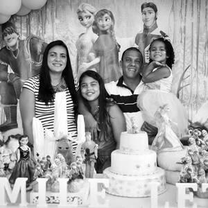 FESTA INFANTIL de Camile 10 anos e Letícia 4 anos