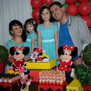 FESTA INFANTIL de Rafaella 9 anos e Rebecca 2 anos