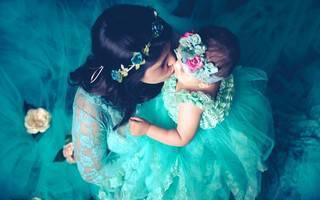 Ensaio mãe e filha de Bia e Melissa