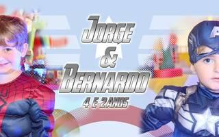 Aniversários de Aniversário Jorge e Bernardo
