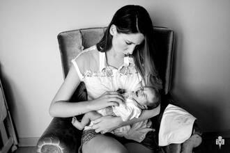 Família de Acompanhamento do bebê: Cecília - 5 dias