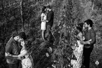 Casamento de Casamento triplo | Ensaio de casal