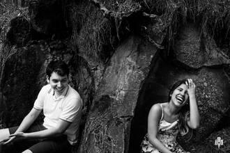Ensaio Pré Casamento de Ensaio de Nathalia e André