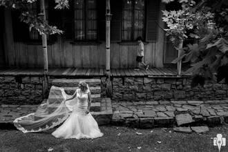 Prova de Vestido de Vestida de noiva: Renata uma semana antes do casamento