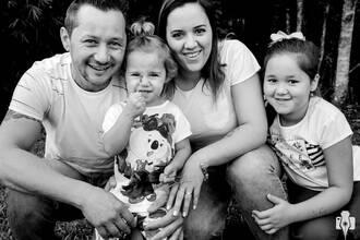 Família de ENSAIO DE FAMÍLIA - PATRÍCIA, RODRIGO, LAVÍNIA E MANUELA